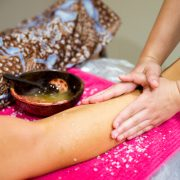 Body Scrub at Stolen Moment Beauty