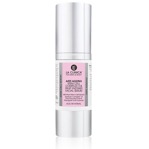 La-Clinica-Anti-Ageing-Stem-Cell Complex-3-Fruit-Enzymes-Facial-Serum-30ml